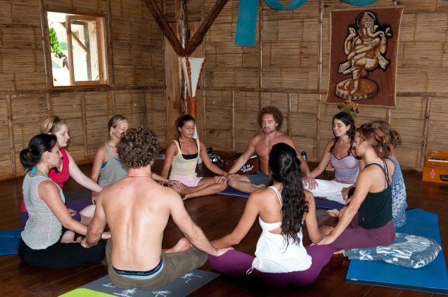 PAST EVENTS - Anusara Inspired Yoga/Thai Massage/AcroYoga Retreat