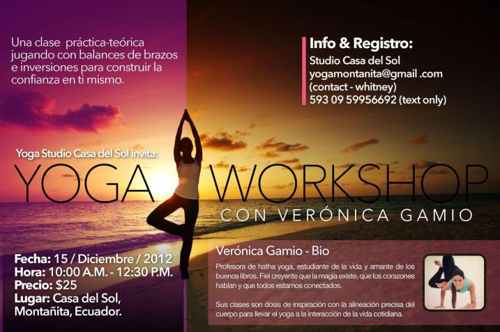 Yoga Workshop - Veronica CDS